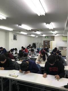 12月23日小テスト中.JPG